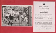 Austria v West Germany 1951 Musil Rapid Vienna Morlock Nuremburg A18